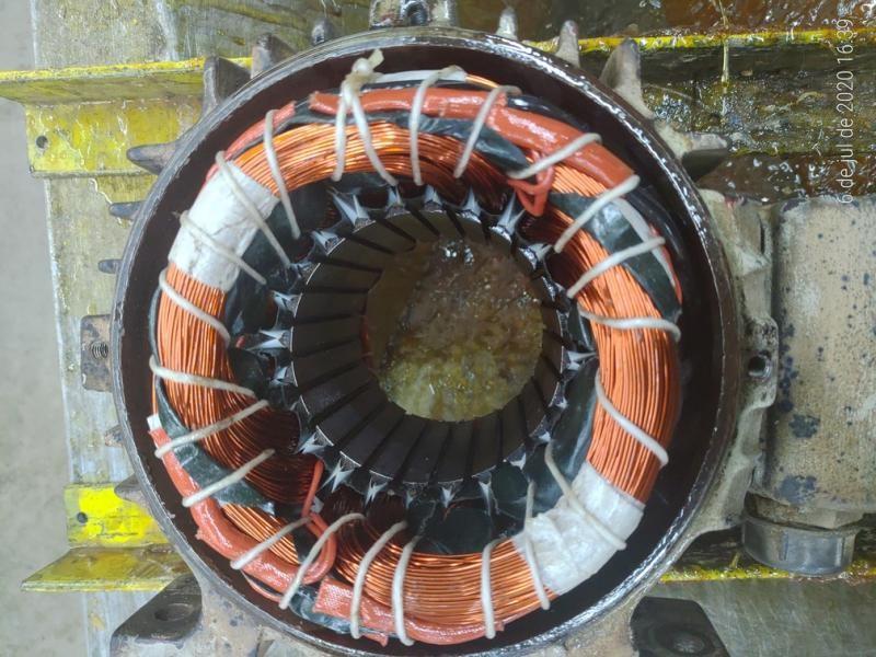 Manutencao motores eletricos industriais