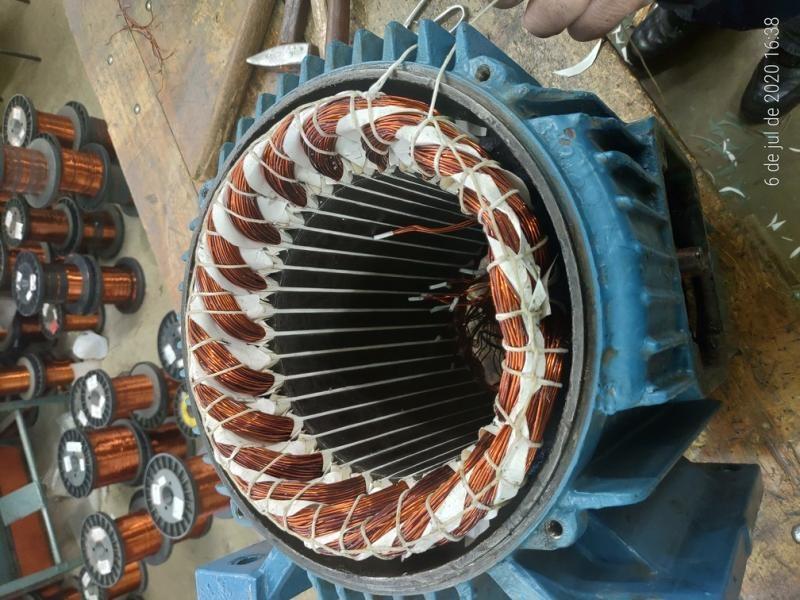 Reparo de motores eletricos